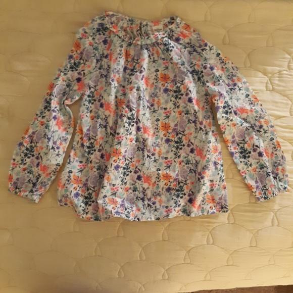 OshKosh B'gosh Other - Girls Oshkosh  Retro Flower Shirt